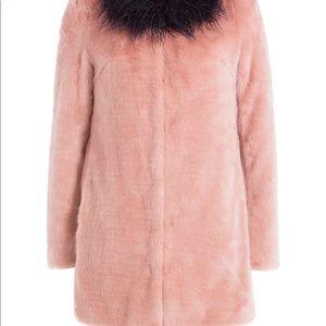 Shrimps Jackets & Coats - Pink Shrimps fur coat